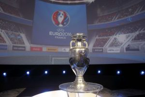 The-European-Trophy-is-displayed-during-EURO-2016-Logo-Slogan-Launch