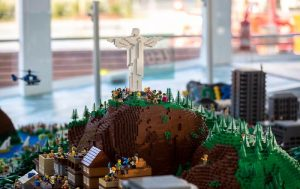 5 large-scale Lego model of Rio on show at Olympic Boulevard for F