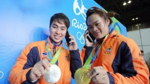 9 Weight-lifting thai 2 medals for C