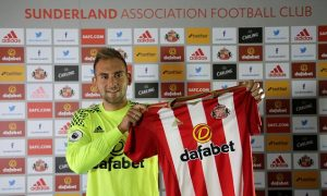 SUNDERLAND, ENGLAND - SEPTEMBER 08: New Sunderland loan signing Michael Simoes Domingues pictured at The Academy of Light on September 8, 2016 in Sunderland, England. (Photo by Ian Horrocks/Sunderland AFC via Getty Images)
