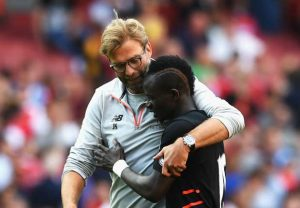4 Liverpool forward Sadio Mane for F