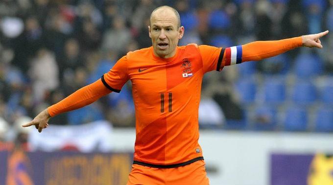'ร็อบเบน' เดี้ยง! พลาดช่วยฮอลแลนด์ ลุยบอลโลก รอบคัดเลือก